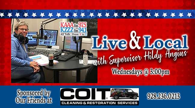 Live & Local with Supervisor Hildy Angius