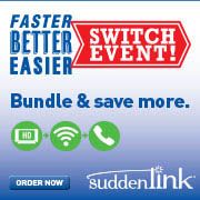 Suddenlink Switch Event! Bundle and Save